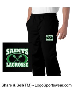 Adult mens training pants with logo Design Zoom
